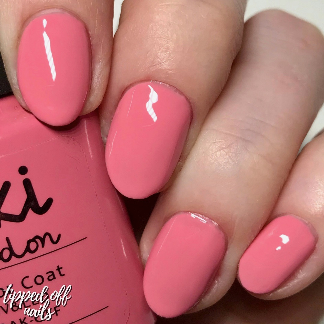 Kiki London Gel Bubblegum Swatch