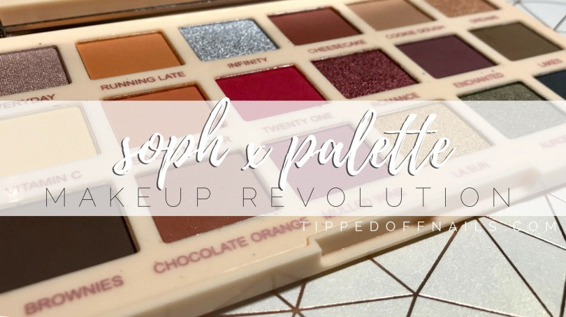 Revolution X Soph Extra Spice Palette
