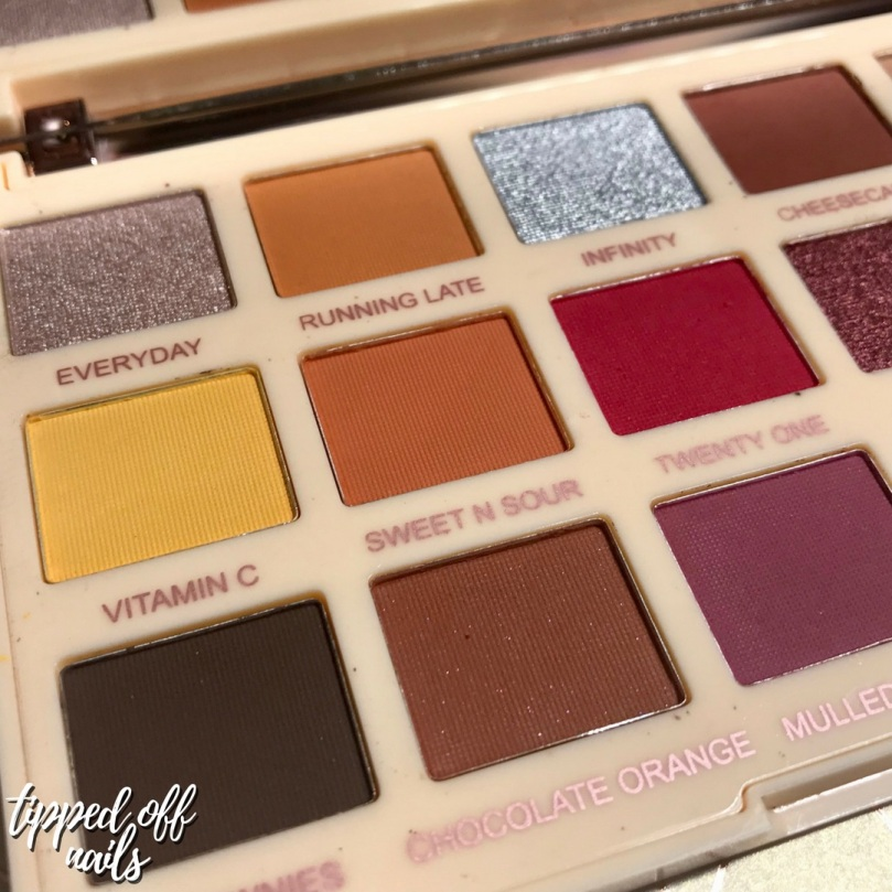 Revolution X Soph Extra Spice Palette - Swatches & Review