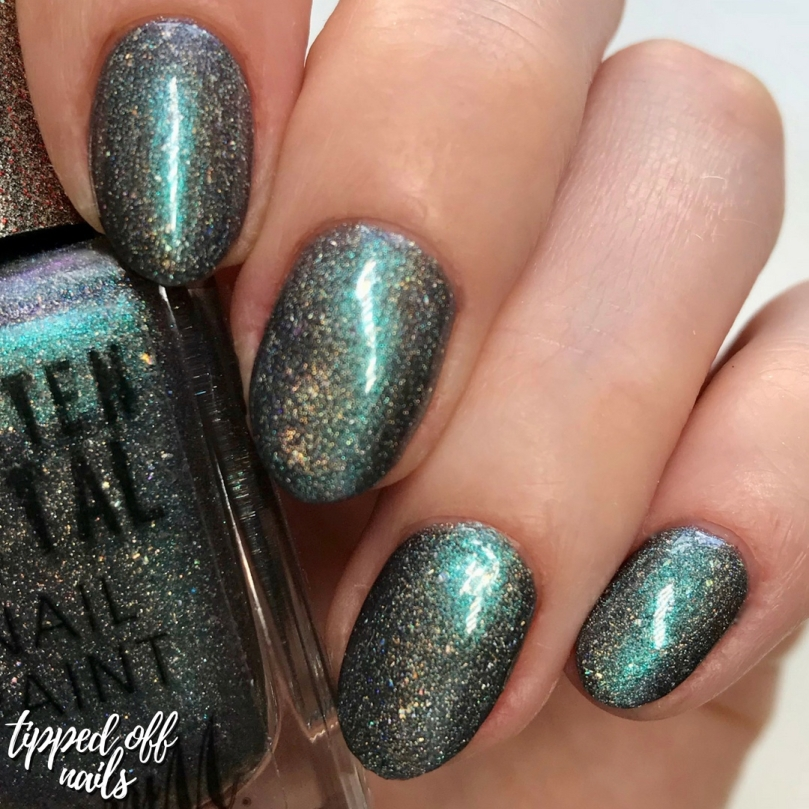 Barry M New Molten Metal Celestial Silver Swatches