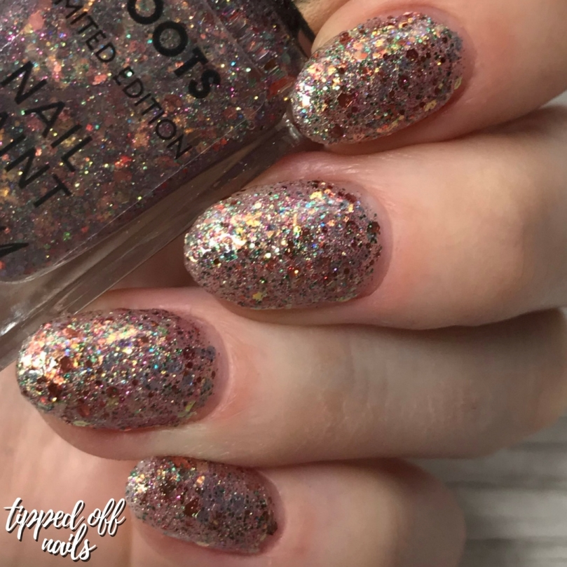 Boots Limited Edition Barry M Fairylights swatches