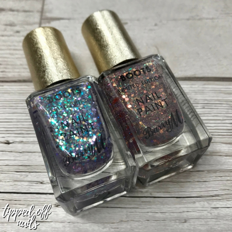 Boots Limited Edition Barry M Nail Paints AW18 swatches & review