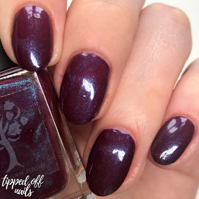 Danglefoot Nail Polish Tim Burton Collection - Sleep Hollow Swatch