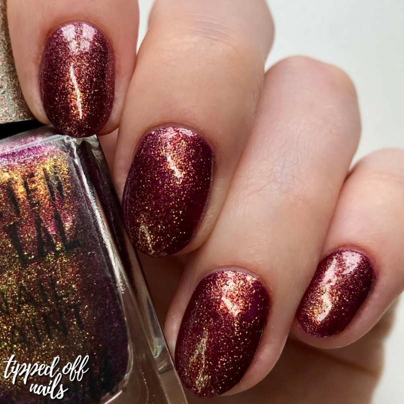Barry M New Molten Metal Antique Gold Swatches
