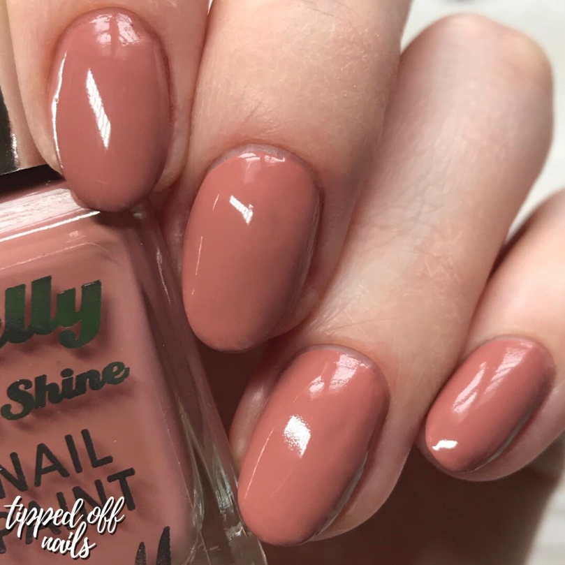 Barry M Gelly Hi Shine Nutmeg Swatch