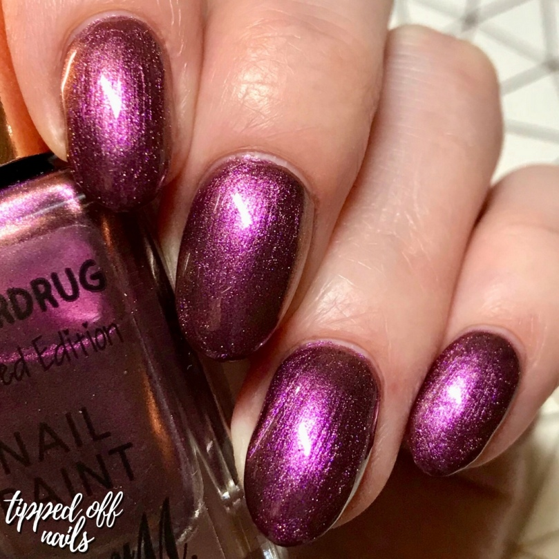 Superdrug AW18 Limited Edition Nail Paints Venom swatches