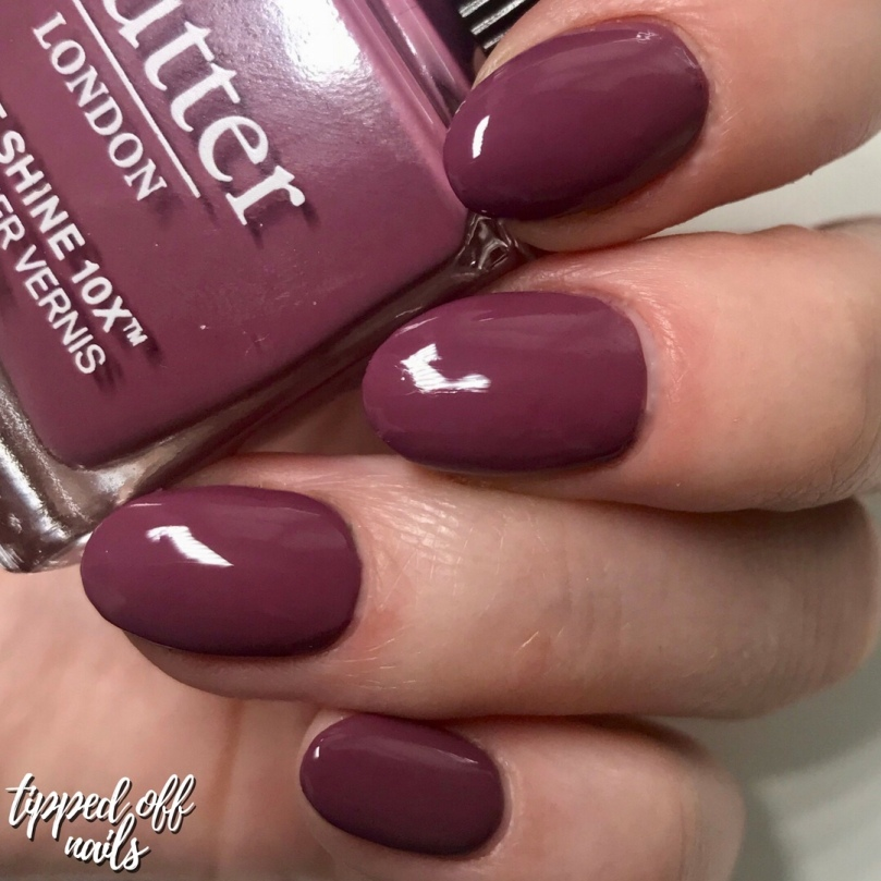 butter LONDON Patent Shine 10X Nail Lacquer Toff Swatches
