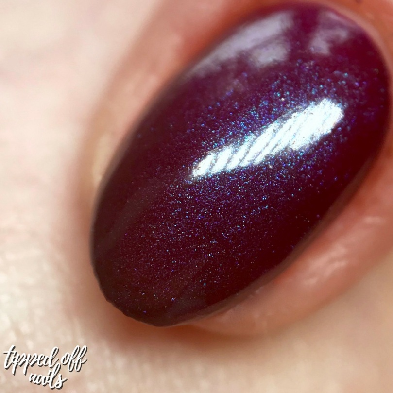 Danglefoot Nail Polish Tim Burton Collection - Sleepy Hollow Swatch