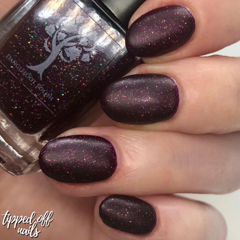 Danglefoot Nail Polish Roald Dahl Collection - We're In Dream Country Now Swatch