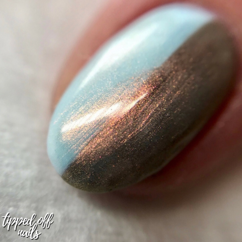 Barry M Under the Sea Moonfish swatches