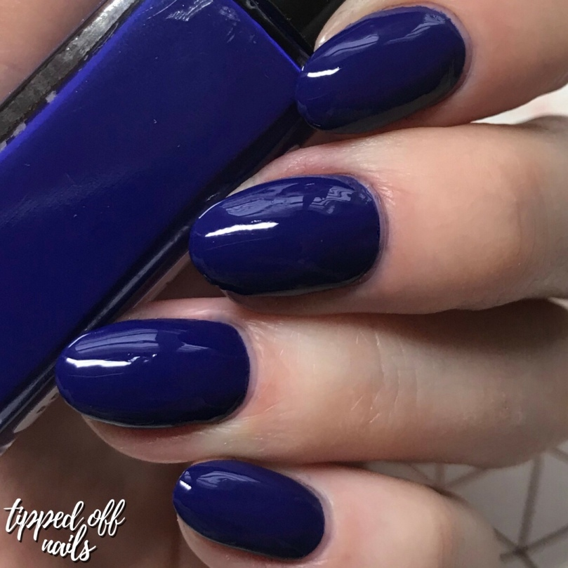 De'Lish Nails London Autumn Polishes - Whoops-A-Navy swatch & discount code