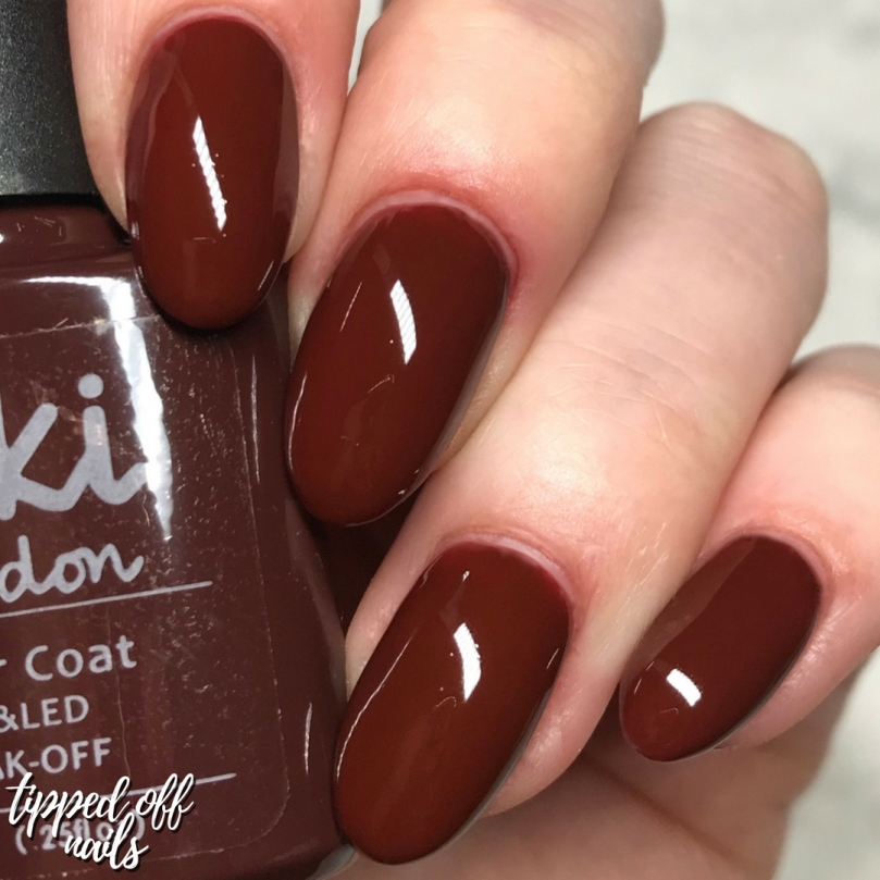 Kiki London Autumn Collection Chocolate Melt Swatches