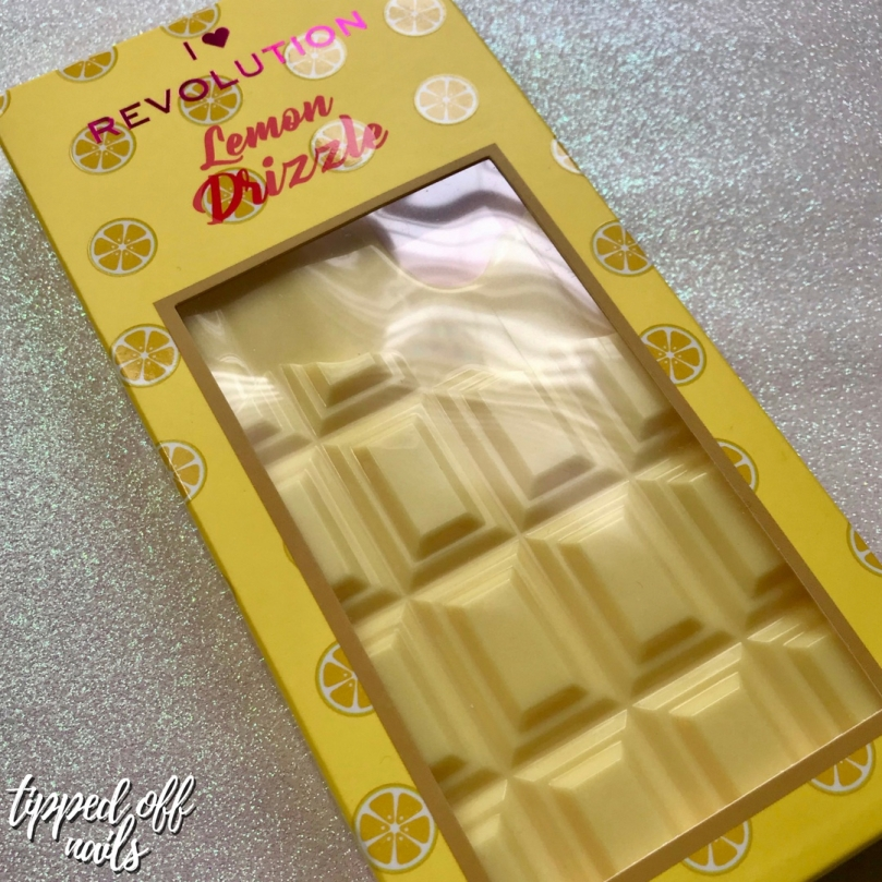 I Heart Revolution: Lemon Drizzle Palette Swatches & Review