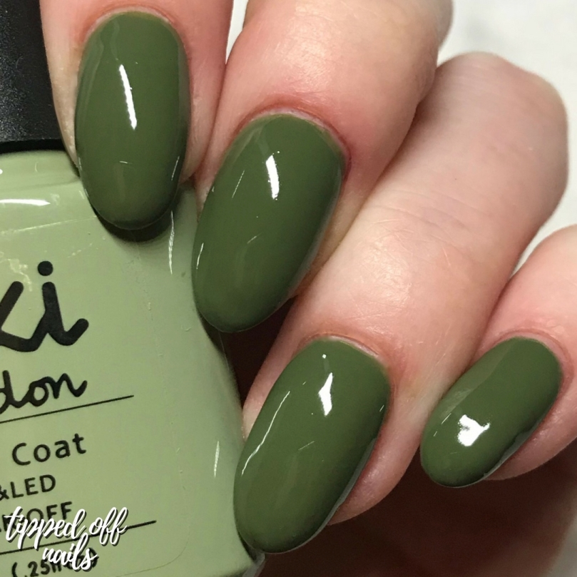 Kiki London Autumn Collection Go Khaki Swatches