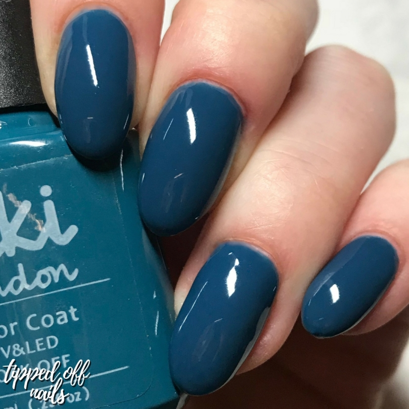 Kiki London Autumn Collection Keep It Teal Swatches