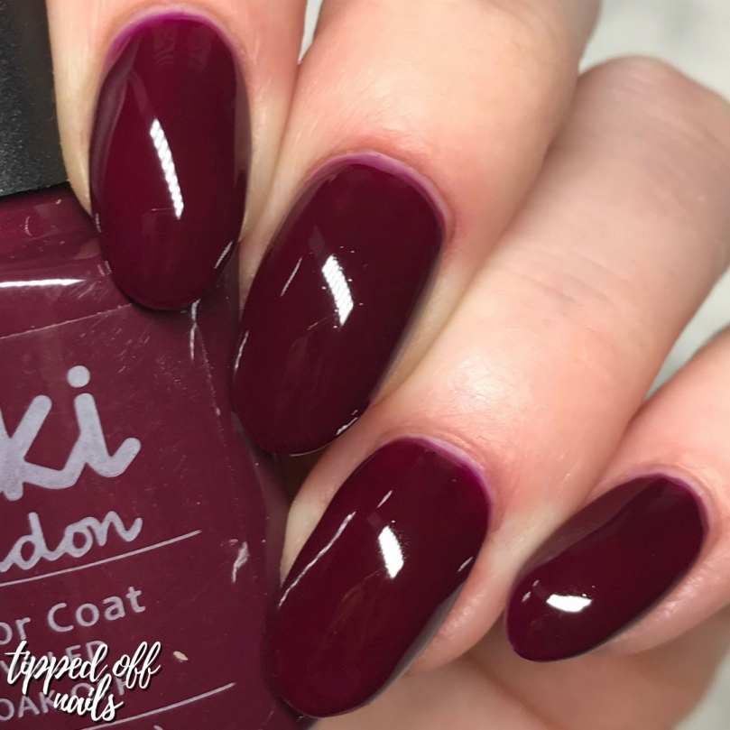 Kiki London Autumn Collection Wine With Me Swatches