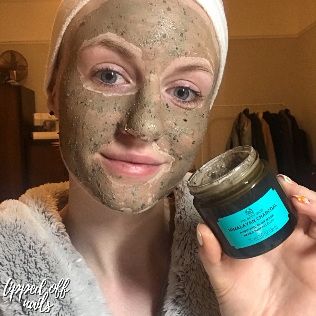 Himalayan Charcoal Purifying Glow Mask Review https://www.facebook.com/groups/thebodyshopwithchloe/