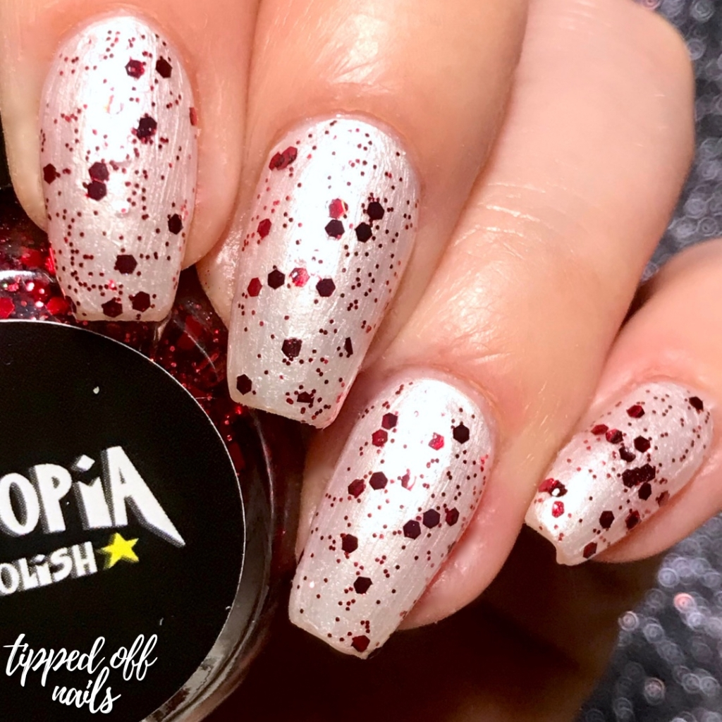 Dystopia Nail Polish: Gothic Fictions II - The Blood is the Life Swatch