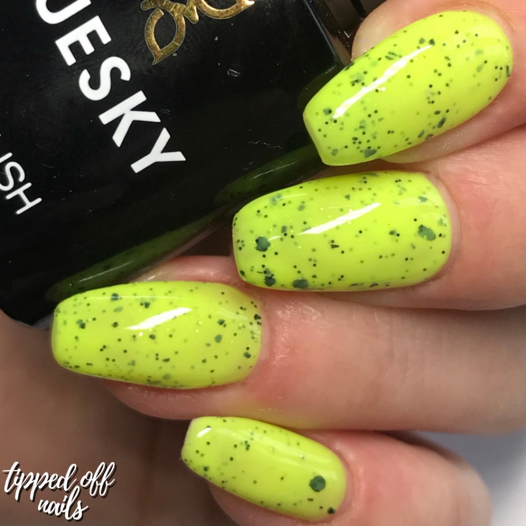 Bluesky Gel Neon Smoothie Collection Swatches & Review Tropical Twist