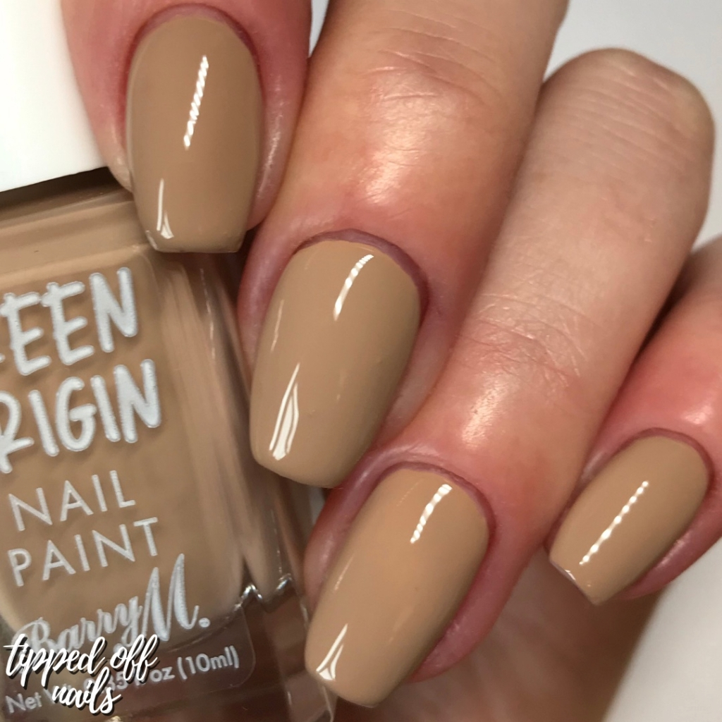 Barry M Green Origins Down to Earth Swatches