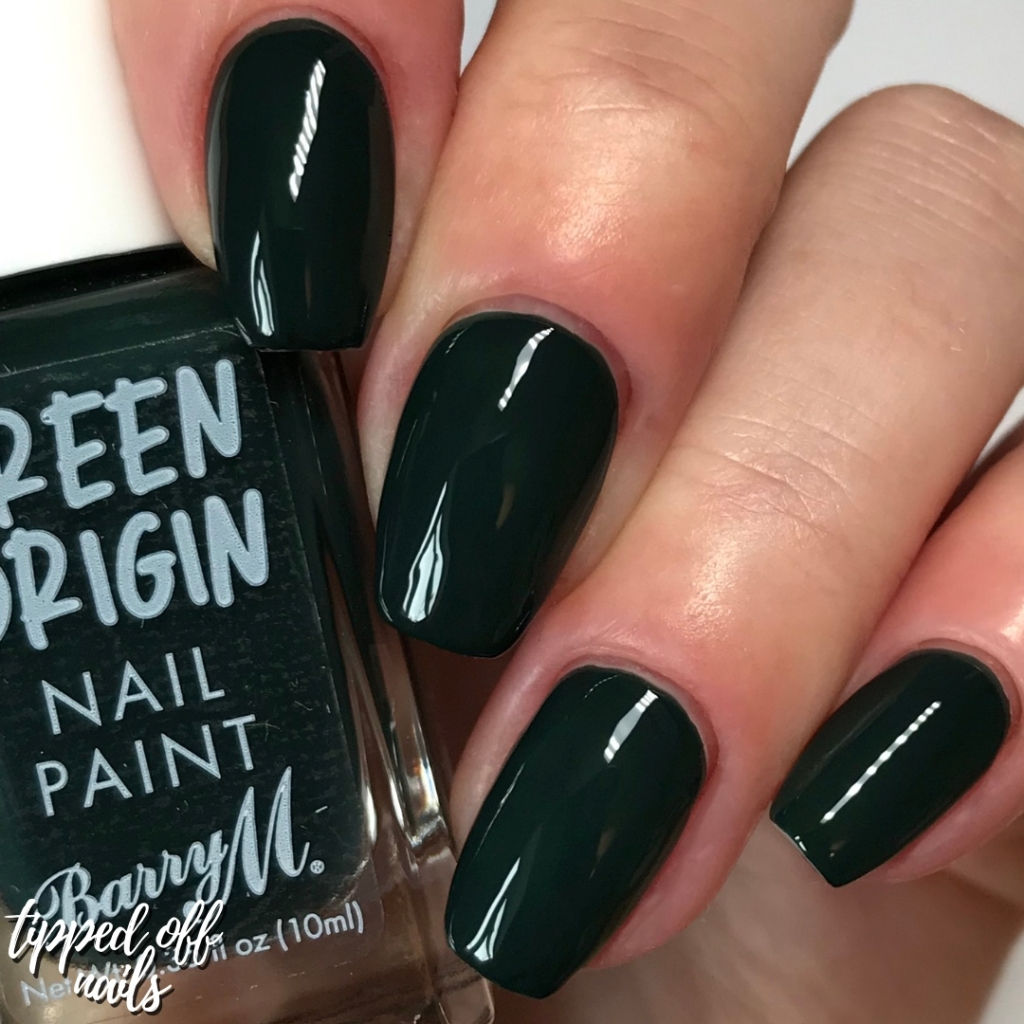 Barry M Green Origins Evergreen Swatches